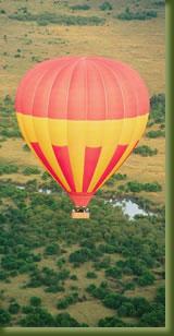 Kenia Safari - Hot Air Balloon