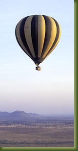 Kenya Safari - Hot Air Balloon