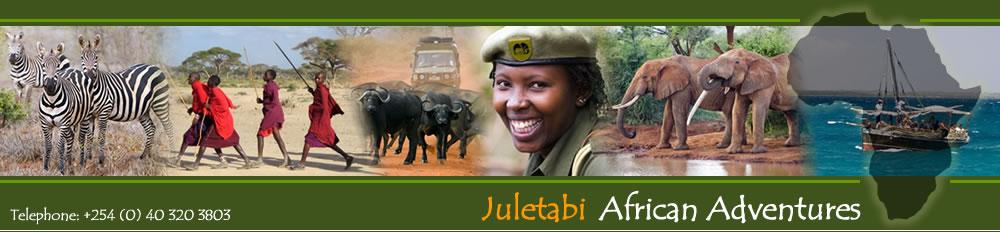 Kenia Safari -Juletabi
