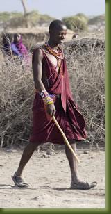 Kenya Safari - tribesman